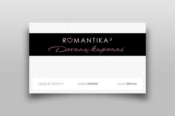 Romantikos dovanų čekis