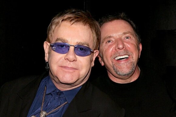 Eltonas Johnas ir Bobas Halley