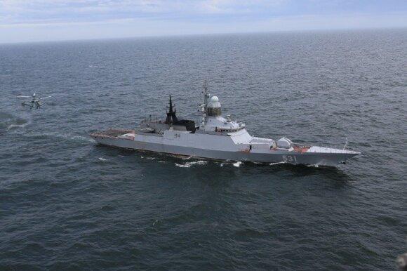 Nidoje iš jūros pusės girdėjo šūvius: pastebėti Rusijos karo laivai