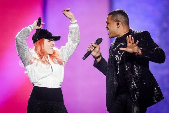 San Marino duetas Valentina Monetta ir Jimmie Wilsonas