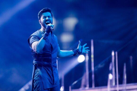 Eurovizijos finalas. Azerbaidžianas: Chingizas – Truth