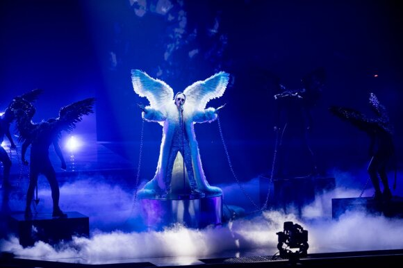 "Norvegijos atstovas TIX, daina ""Fallen Angel"""