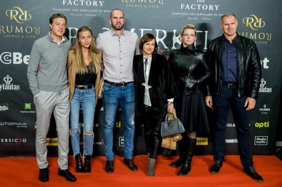 Po kalbų apie susitaikymą Rolandas Skaisgirys su žmona Vaida ant raudonojo kilimo pozavo kartu
