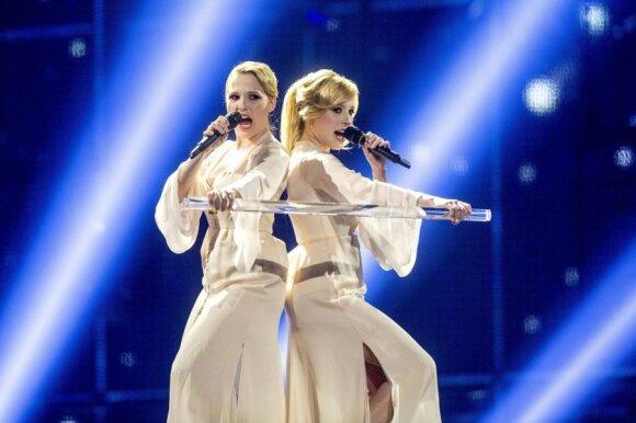 """Rusijos atstovės """"Tolmachevy Sisters"""""""