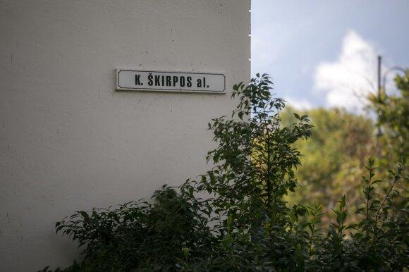 Sostinės taryba apsisprendė: Škirpos alėją pervadina į Trispalvės