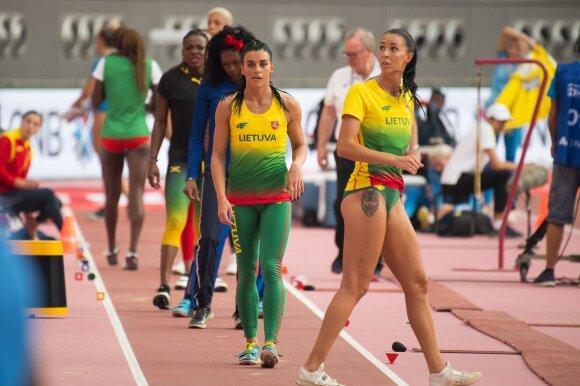 Pasaulio lengvosios atletikos čempionatas, Dovilė Kilty, Diana Zagainova