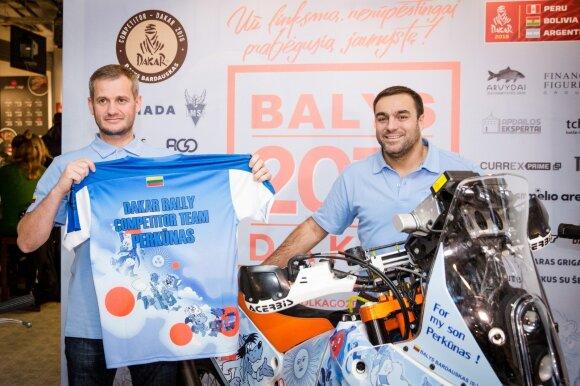 Balys Bardauskas ir Carlosas Brebbia
