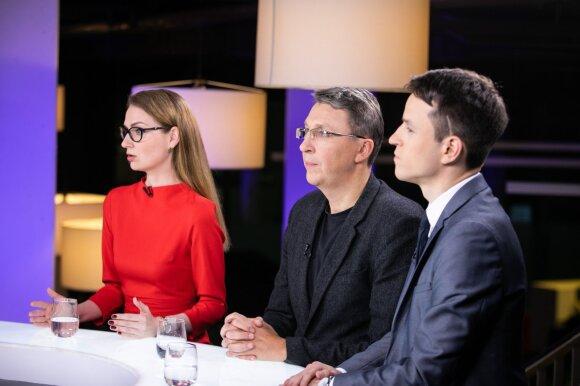 Rima Urbonaitė, Vytautas Bruveris, Linas Kojala