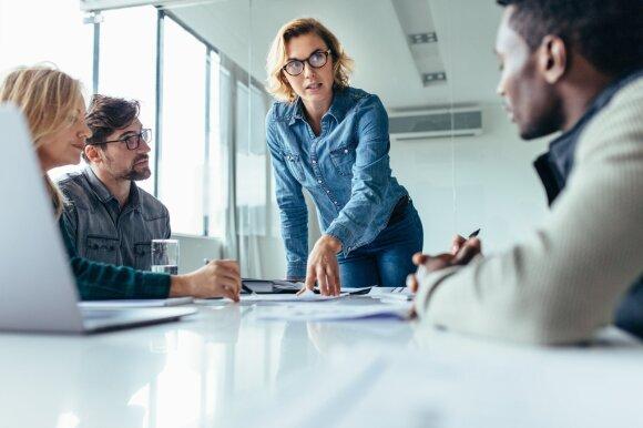 Specialistė apie šiuolaikinius vadovus: ne kiekvienas jų žino svarbiausią stiprios komandos formulę