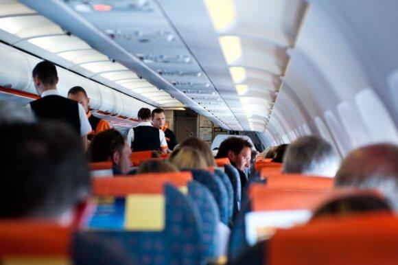 Ką turėtų žinoti lėktuvo keleivis