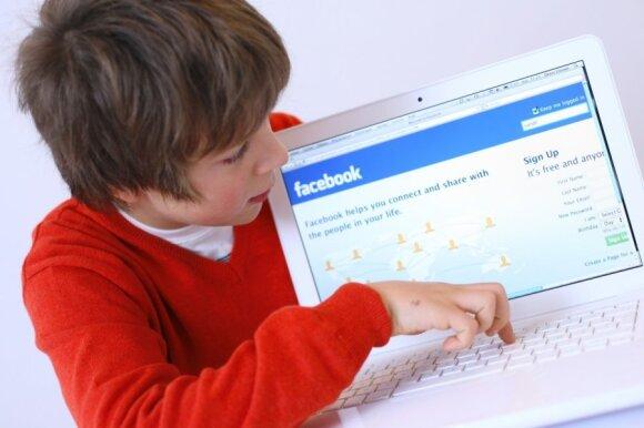 Vaikai ir internetas: žinių šaltinis ar pavojų liūnas?