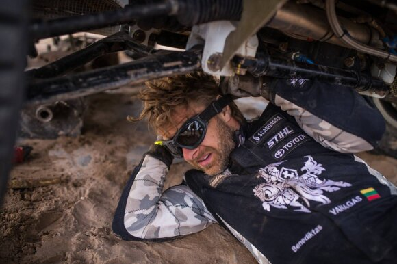 Benediktas Vanagas išvyksta į 2019-ųjų Dakaro ralį