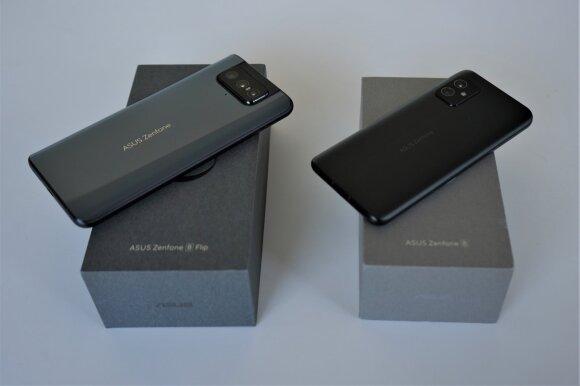 Asus Zenfone 8 Flip ir Asus Zenfone 8