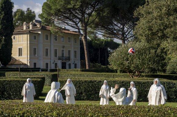 """Serialas """"Naujasis popiežius""""  /Foto: Go3.lt"""