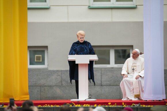 Grybauskaitė apie kainas: neigiama verslo reakcija rodo, kad tiksliai pataikėme