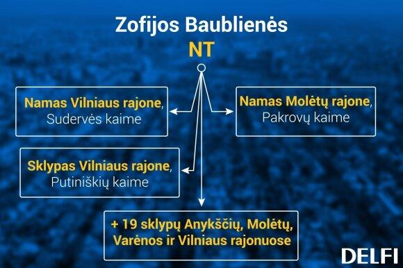 Z. Baublienės valdomas NT