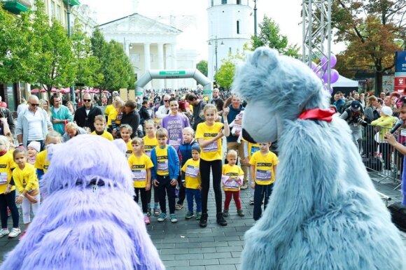 Vilniaus maratone – dėmesys ankstukams