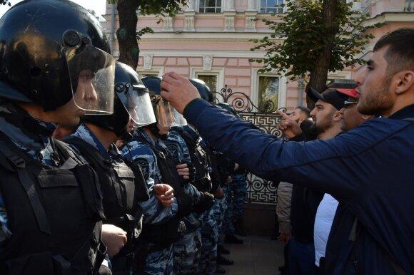 В Чечне прошел многотысячный митинг в поддержку мусульман Мьянмы