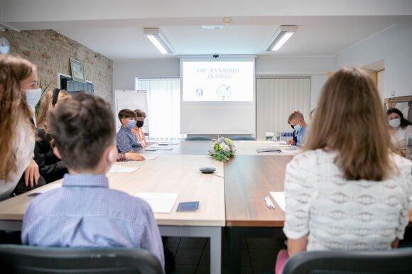 Startavo Vaikų taryba: išrinkta pirmininkė, iškeltos svarbiausios problemos