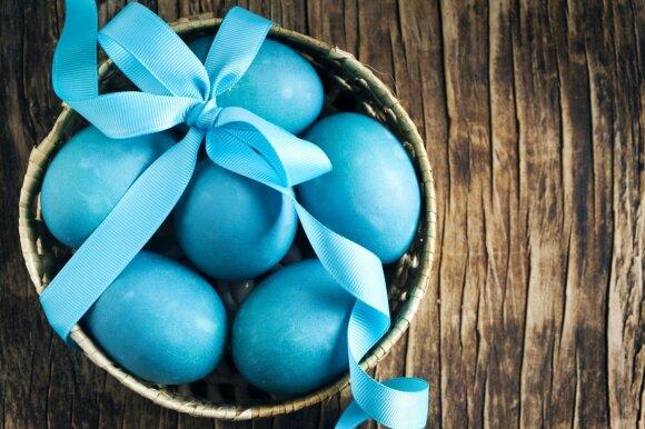 Kiaušinius marginame be chemijos: natūralus būdas su gražiu rezultatu
