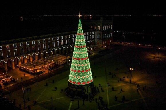 Kalėdų eglė Lisabonoje