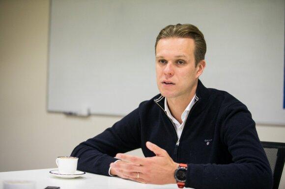 Gabrielius Landsbergis: nėra kito kandidato, pas kurį eis Karbauskis – tik Nausėda