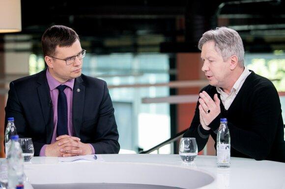 Laurynas Kasčiūnas, Algimantas Kasparavičius
