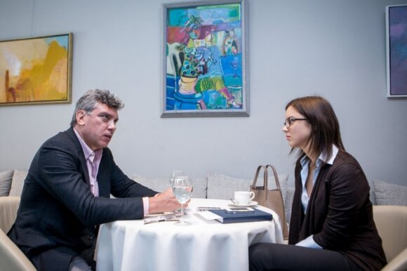 Borisas Nemcovas ir Julija Kiško