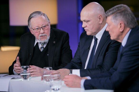 Vytautas Landsbergis, Kęstutis Betingis ir Artūras Paulauskas
