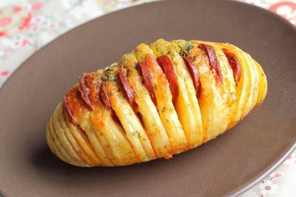 Gardumėlis: švediškos bulvės