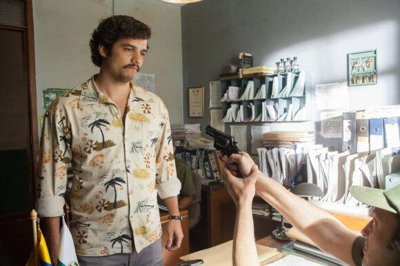 """Wagneris Moura vaidina Pablo Escobarą seriale """"Narcos"""""""
