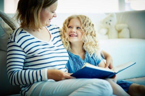 6 patarimai, kaip sudominti vaiką knygomis