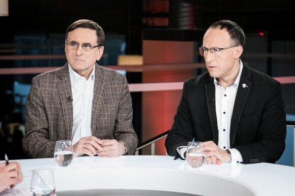 Lauras Bielinis, Vladimiras Laučius
