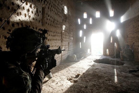 JAV karys Kandaharo provincijoje