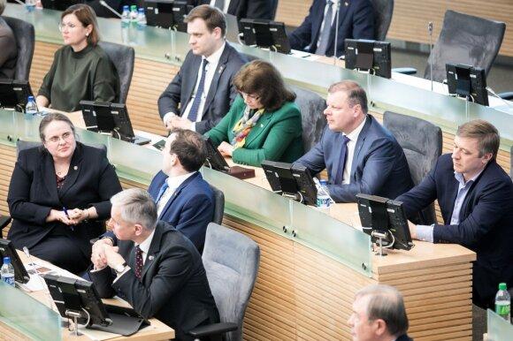 Seimas apsisprendė: pirmalaikių rinkimų nebus