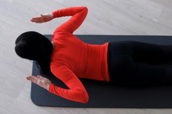 Pratimai nuo streso atsiradusiam nugaros skausmui šalinti