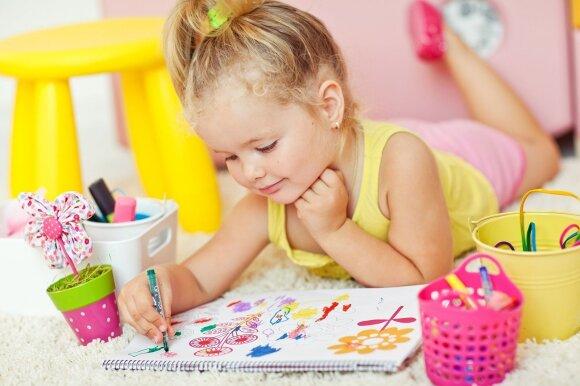 Kaip lavinti vaiko kūrybiškumą: Rima Kernagienė pateikė išbandytą receptą