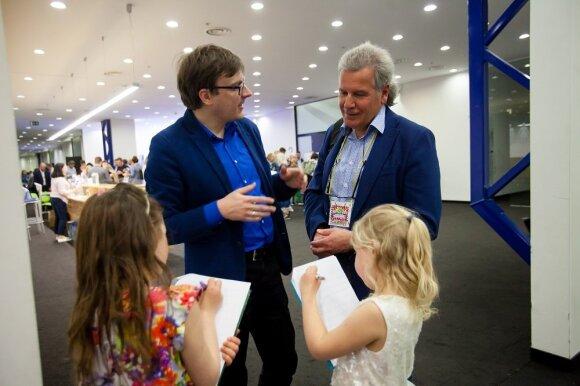 Suomijos švietimo ekspertas Hannu Tapani Naumanenas