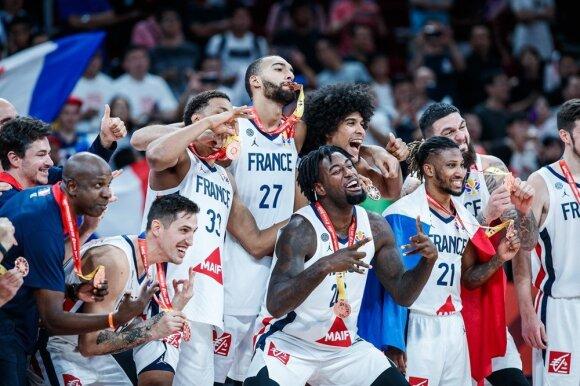Prancūzų triumfas iškovojus pasaulio čempionato bronzą
