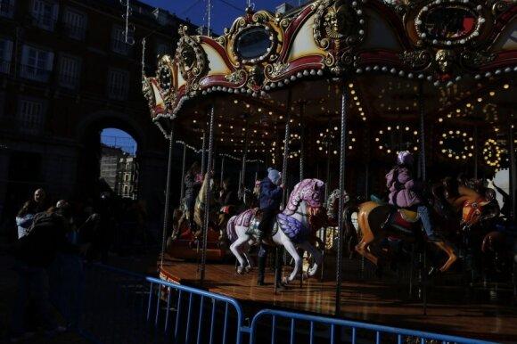 Kalėdų mugė Madride