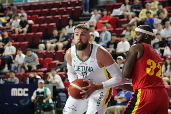 Draugiškos rungtynės: Lietuva - Angola