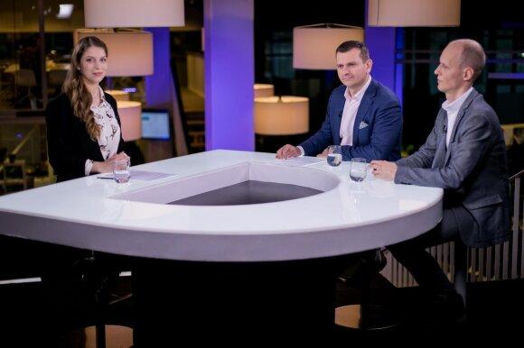 Vytautė Merkytė, Rytis Rainys ir Vytautas Krakauskas