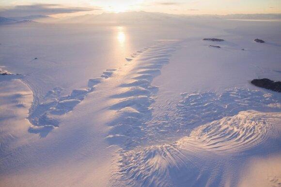 Antarktida, sausieji McMurdo slėniai