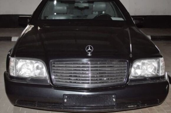 """Mercedes-Benz Guard Pullman S600"""