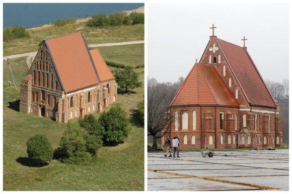 Zapyškio bažnyčios aplinkos pokyčiai