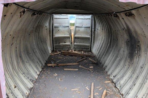 To Lietuvoje dar nebuvo: kovinių bepiločių orlaivių šūviai ir pirmas sunaikintas tankas