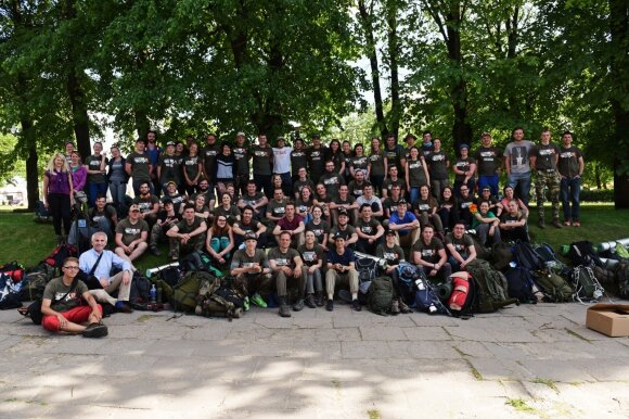 """Misija Sibiras 2017"" bandomasis žygis"