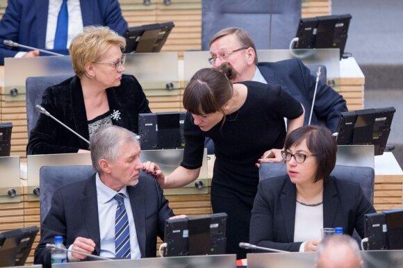 Gediminas Kirkilas Radvilė Morkūnaitė - Mikulėnienė