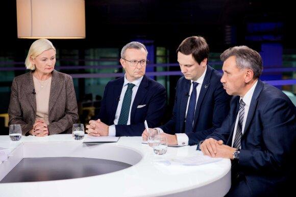 Politikų diskusija su bankininkais ir prekybininkais – kalbasi, kaip kurčias su aklu