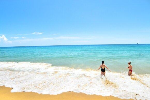 Tailando salos: grožis verčia aikčioti, bet saulė negailestinga